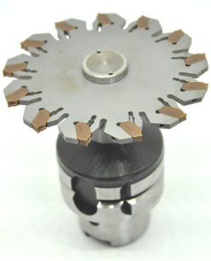 HSK 63 Trennfräser - Verwendungszweck: T-Nutenfräser.