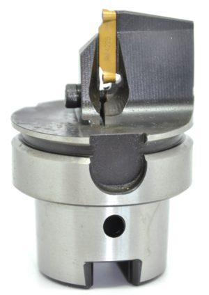 HSK 63T Stechplatte - Verwendungszweck: Konturdrehen mit Stechplatte
