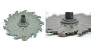 Schwingungsgedämpfter Trennfräser - Verwendungszweck: zum Herstellen von Nuten 2,5mm